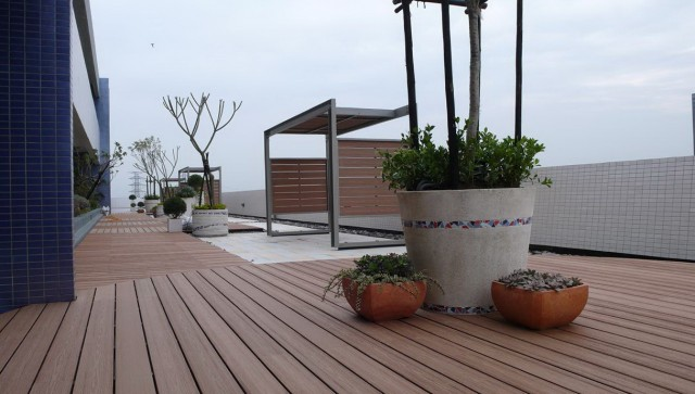 Wood Deck Covering Materials