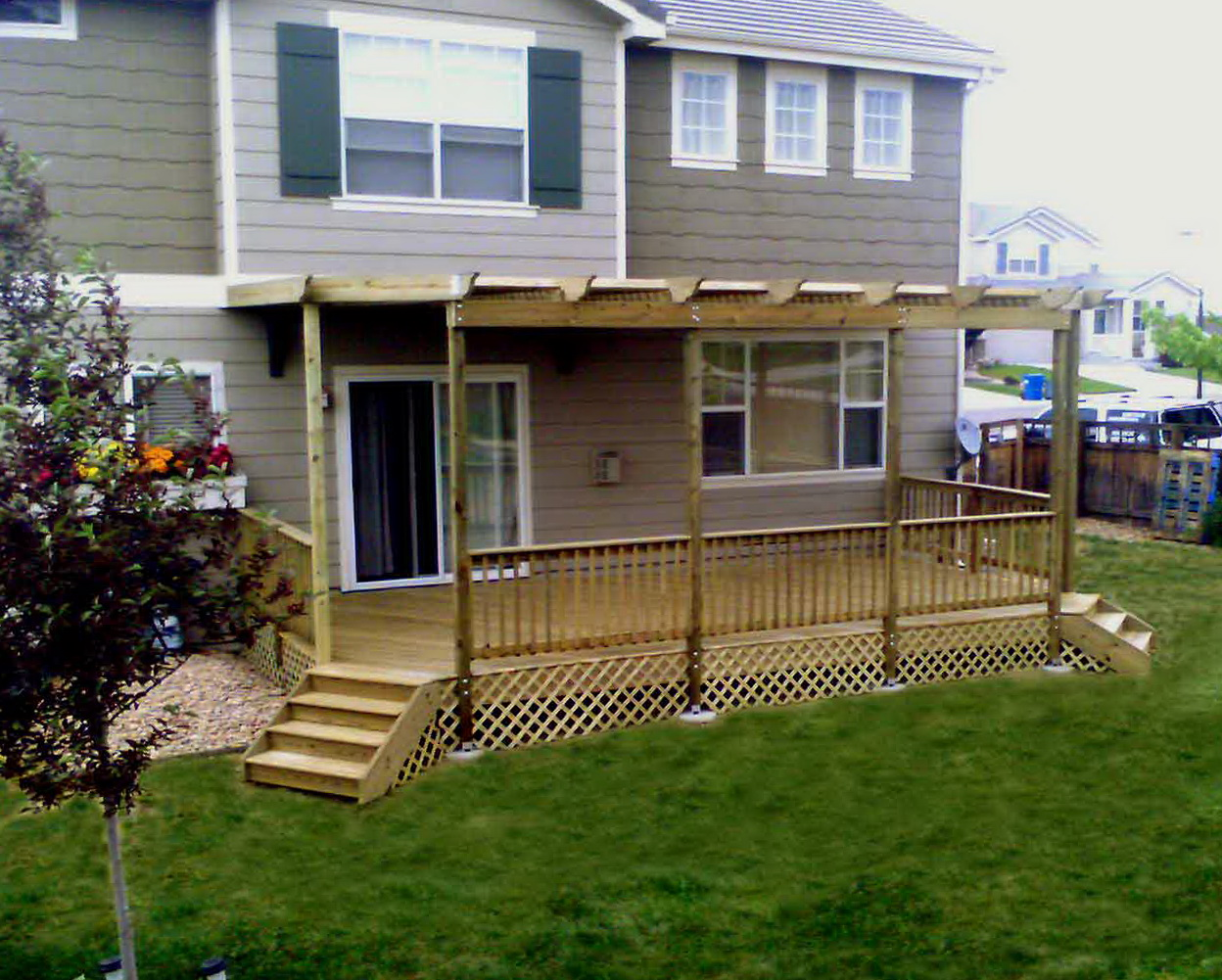 Wood Deck Ideas Pinterest