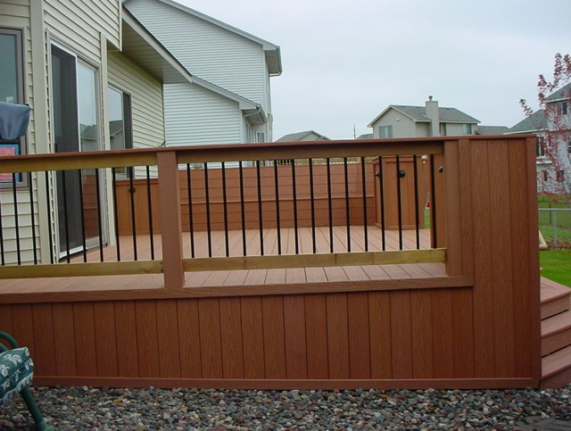 Wood Deck Rail Designs