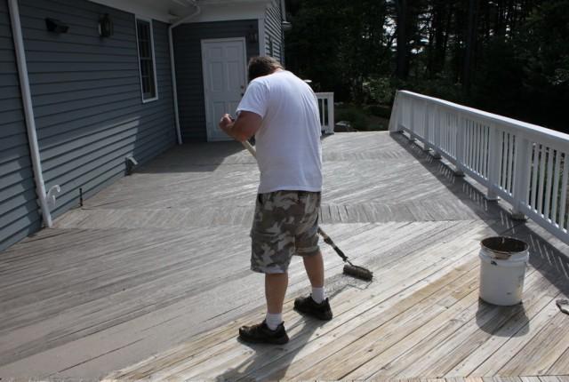 Wood Deck Sealer And Filler