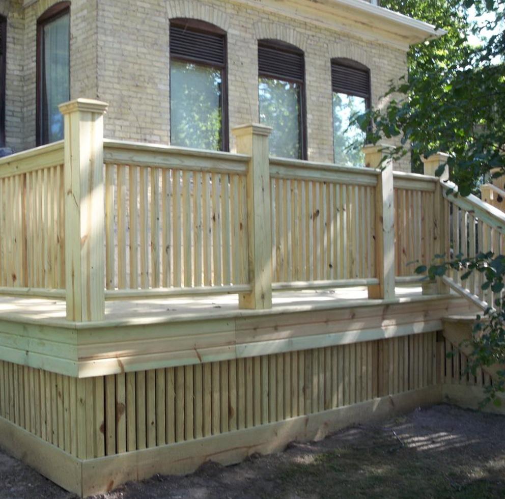 Wood Decking Materials Comparison