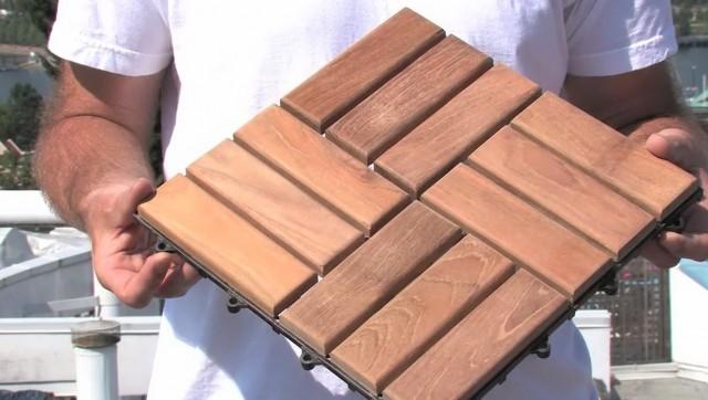 Wooden Deck Tiles Ikea