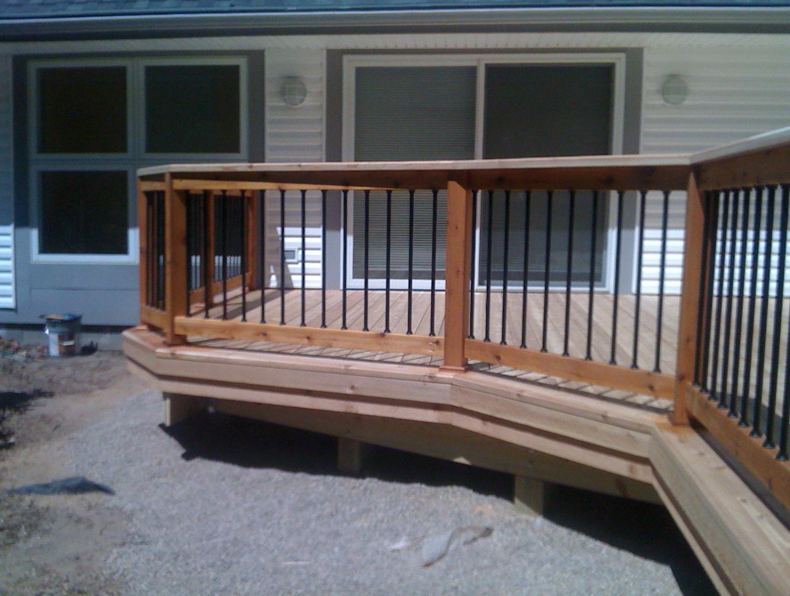2 215 6 Deck Railing Ideas Home Design Ideas