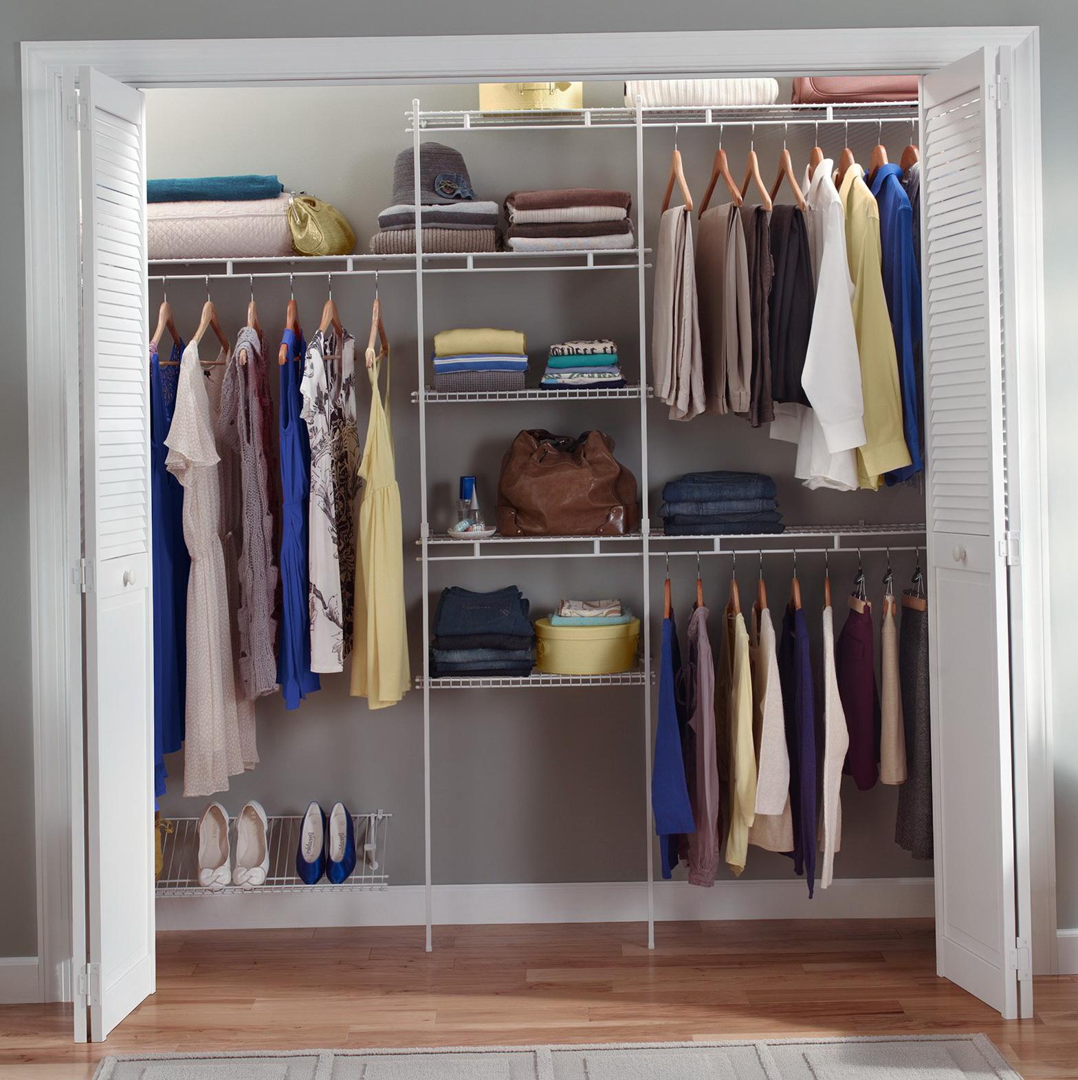 5 Ft Wire Closet Shelves Home Design Ideas