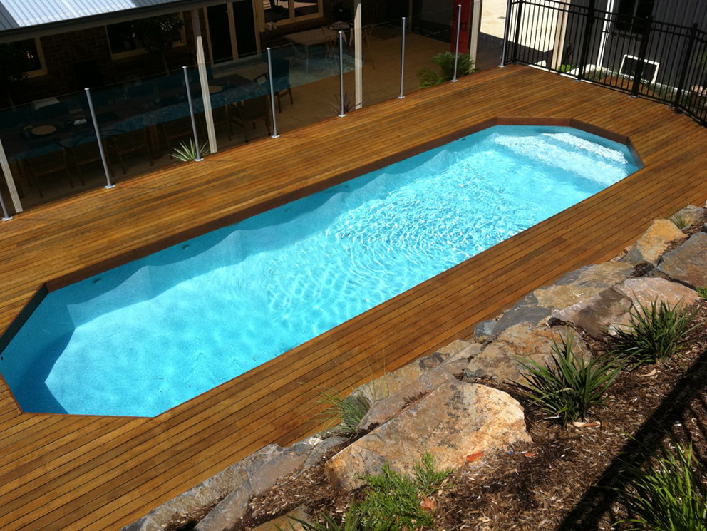 above ground swimming pools with decks for sale home