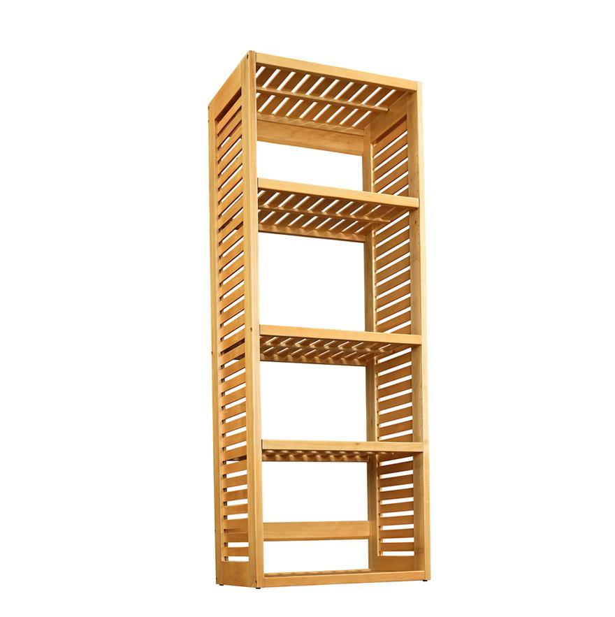 allen roth ceiling fan wood closet organizer 1254447