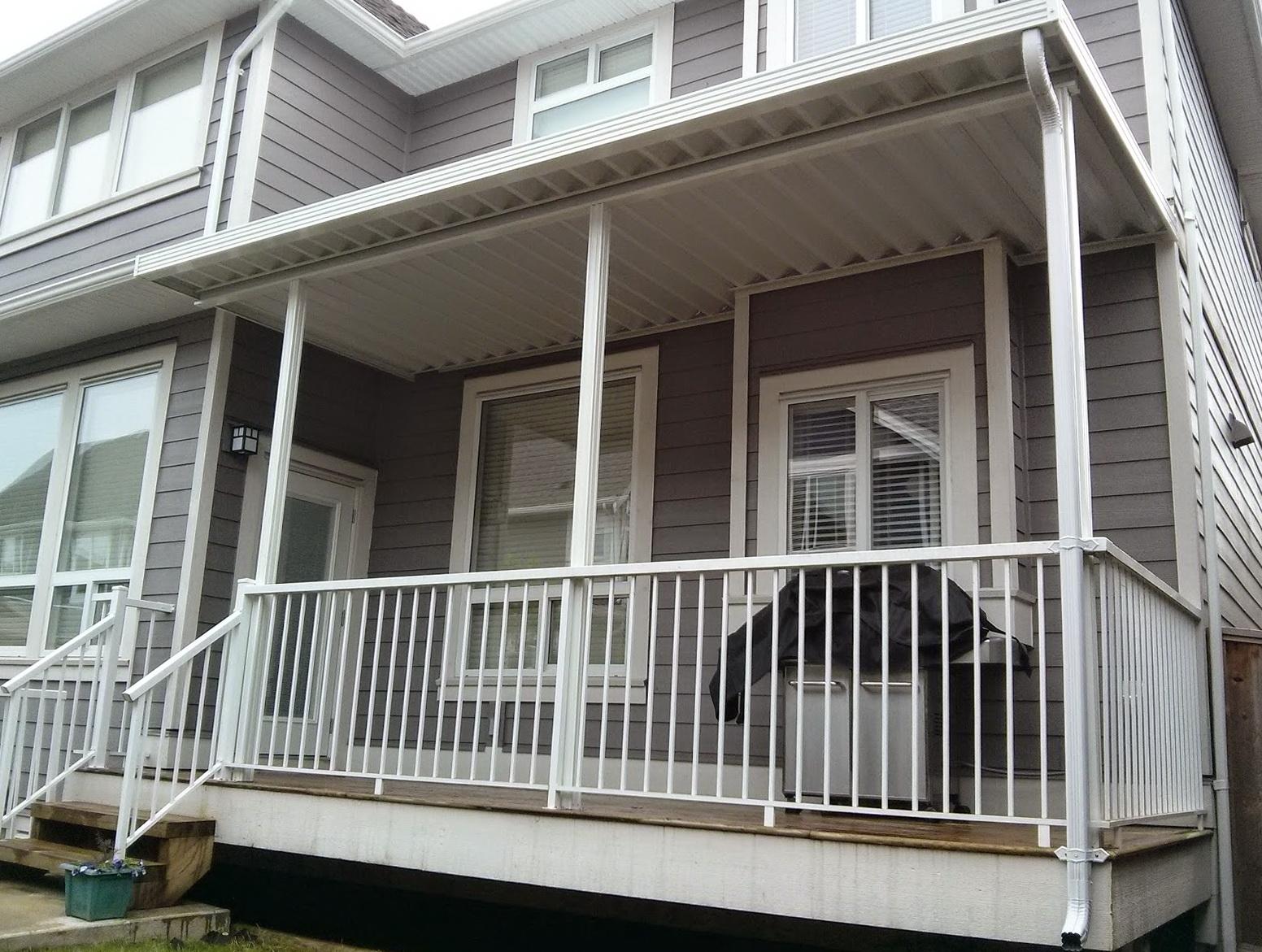 Aluminum Awnings For Decks Home Design Ideas