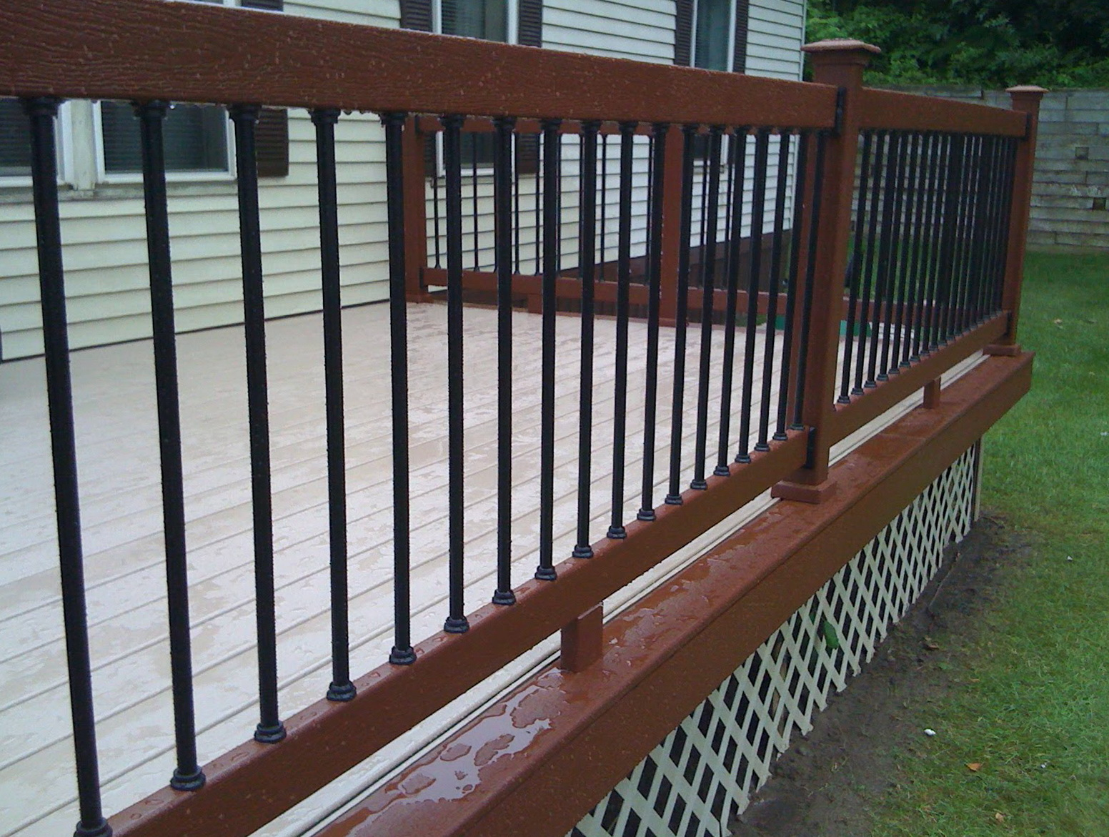 Aluminum Deck Balusters Discount Home Design Ideas