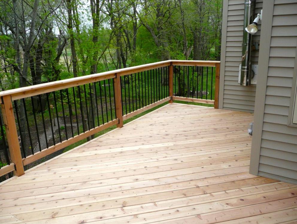 Aluminum deck balusters home depot design ideas