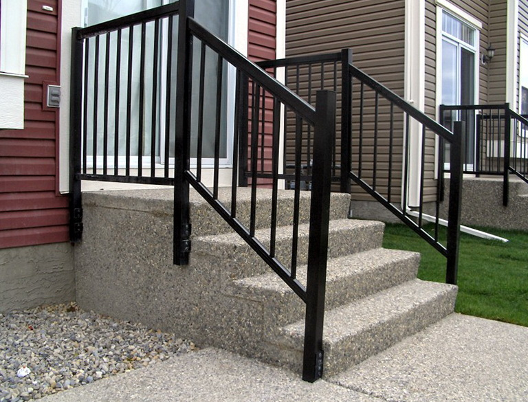 Home Depot Metal Decking : Aluminum deck railing home depot design ideas