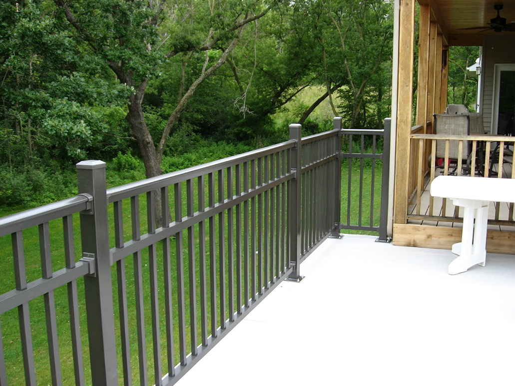 Aluminum Deck Railings Home Hardware Home Design Ideas