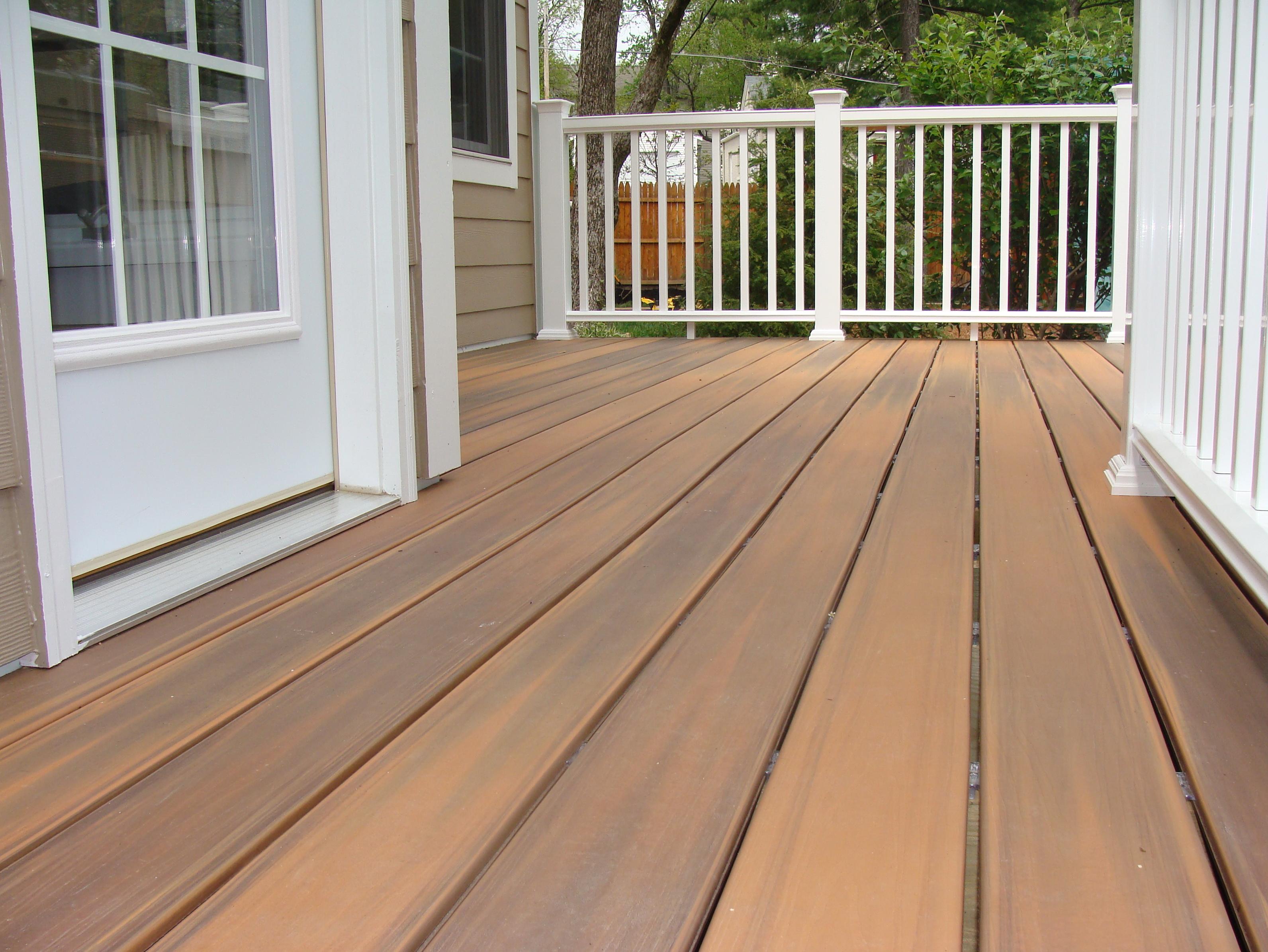 Azek composite decking colors home design ideas for Colors of composite decking