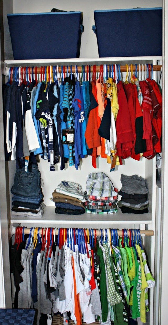 Baby Boy Closet Organizers