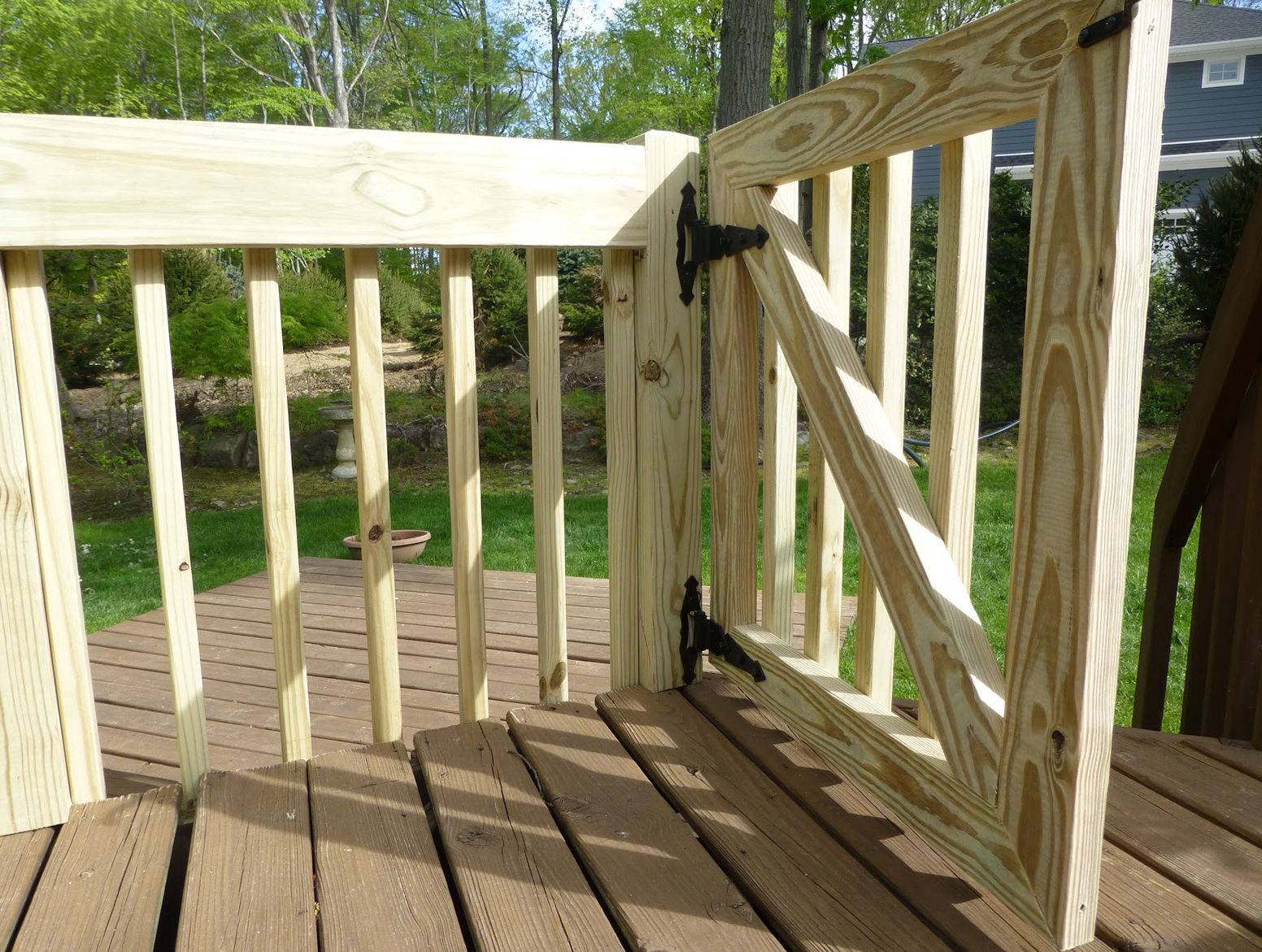 Baby Gate For Outdoor Deck Home Design Ideas