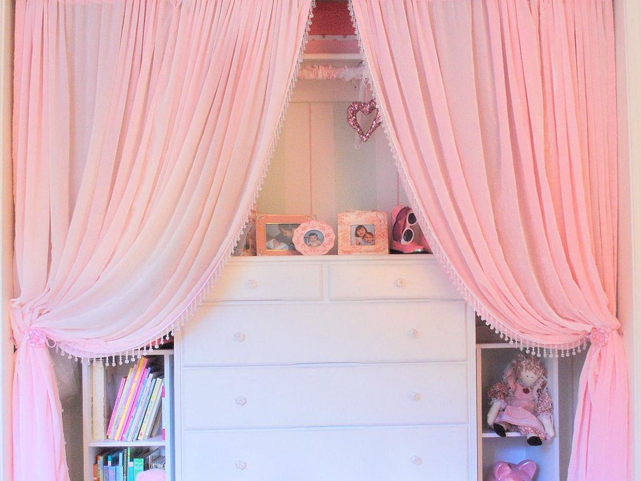 Baby Girl Wardrobe Closet