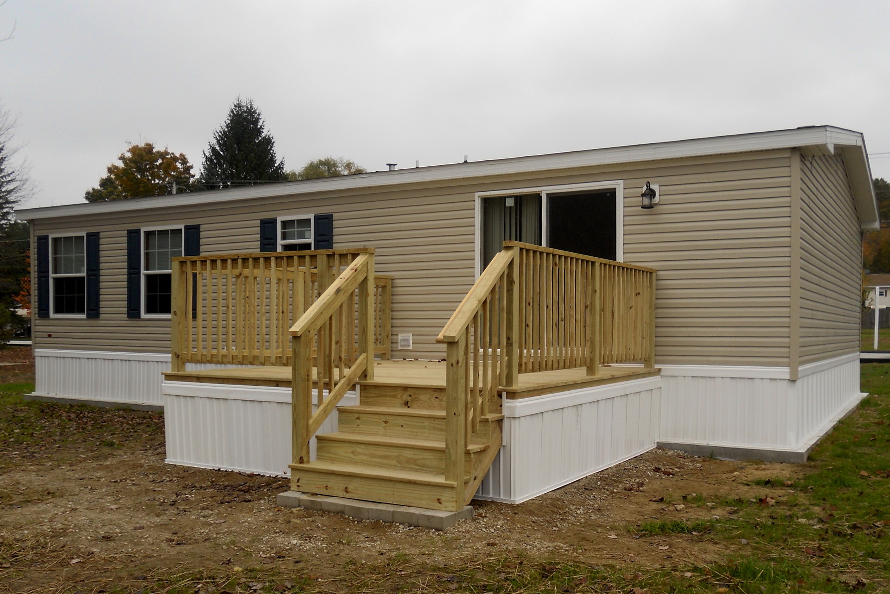 Back Decks For Mobile Homes Home Design Ideas