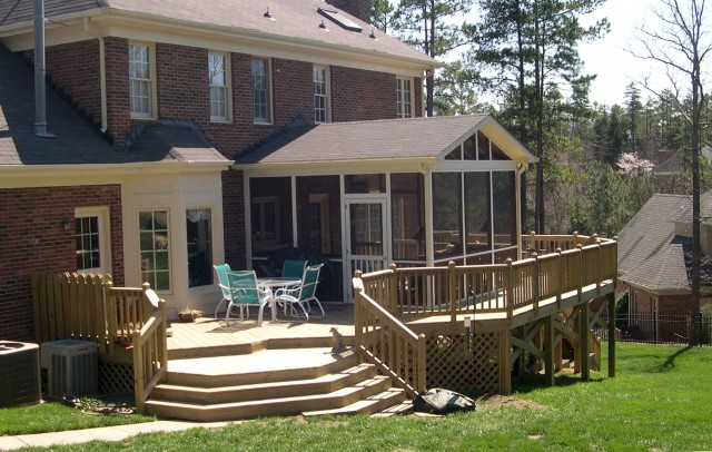 Back Patio Deck Ideas