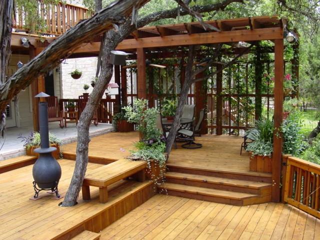 Backyard Deck Plans