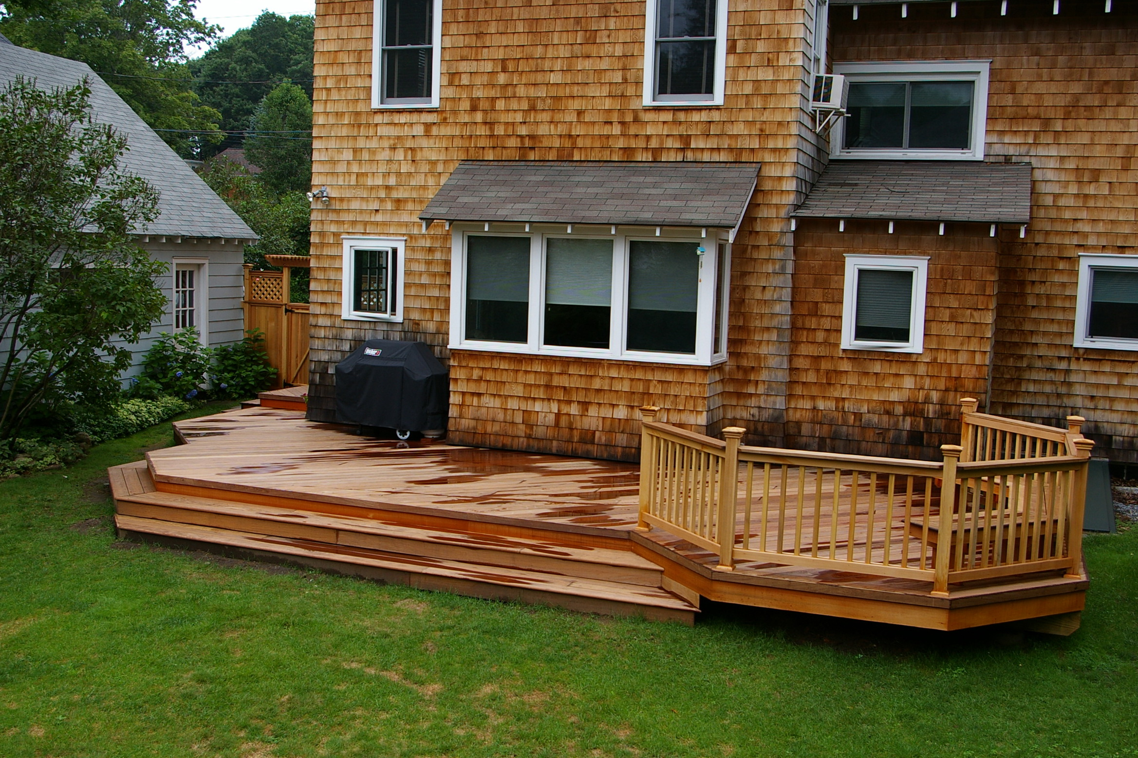 Backyard Deck Plans Free