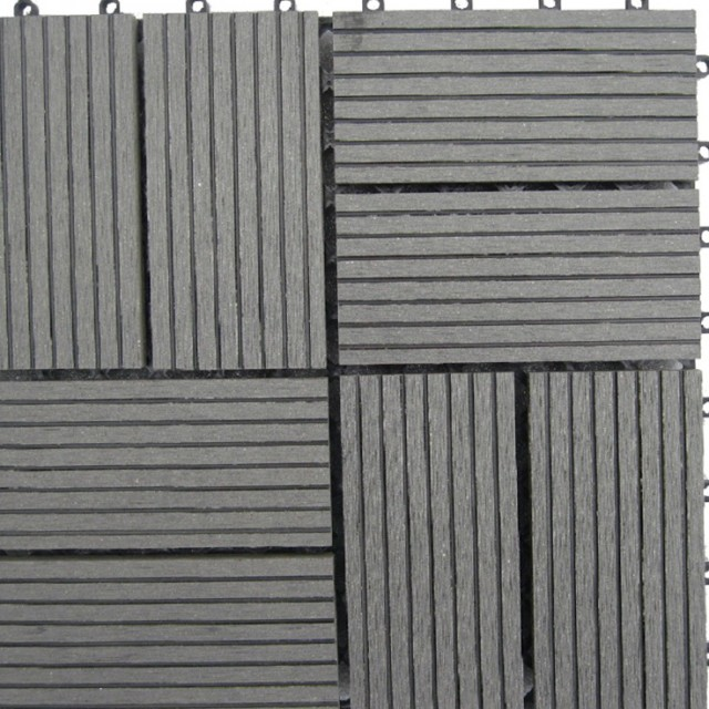 Bamboo Composite Deck Tiles