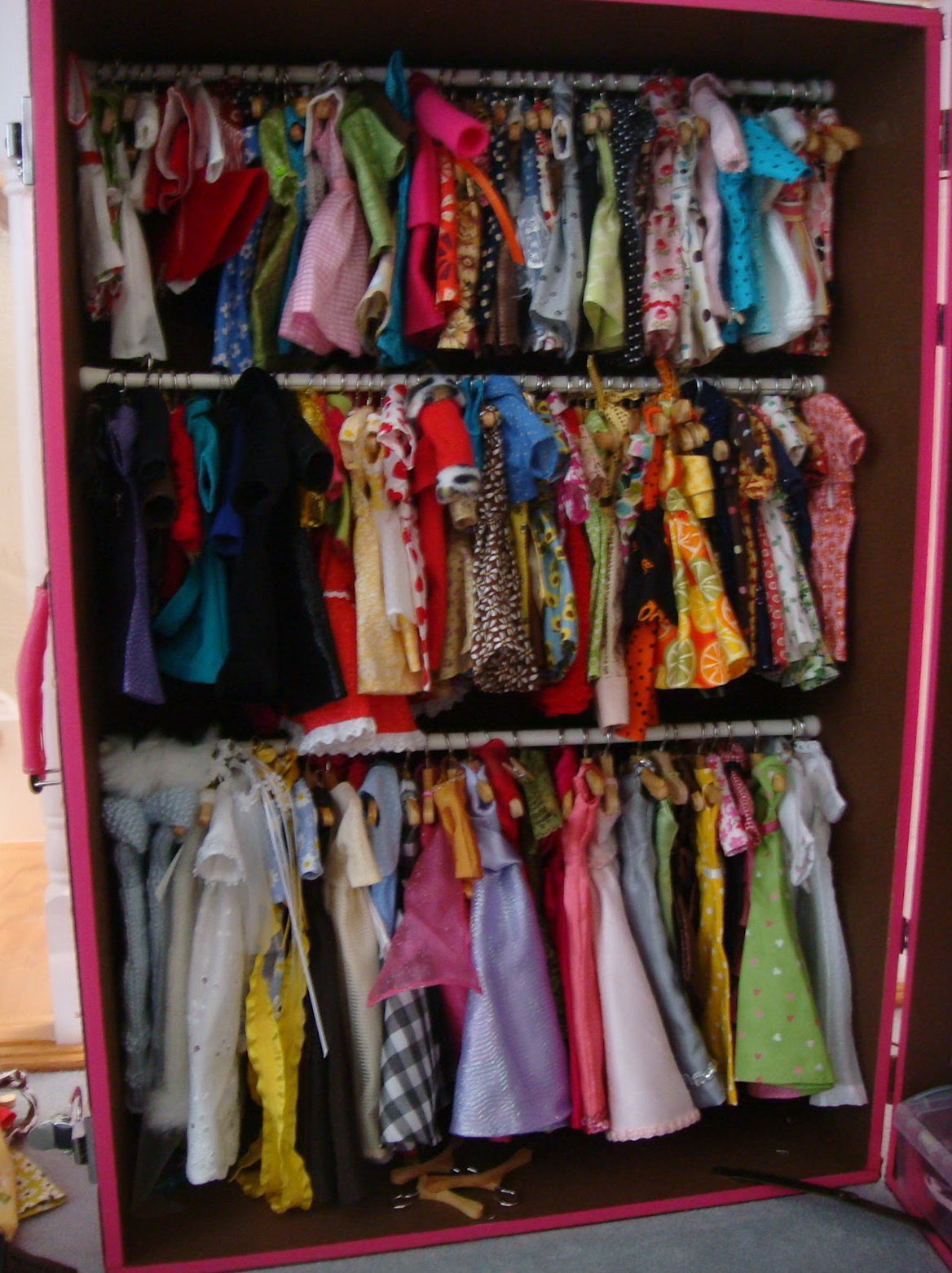 Barbie Doll Wardrobe Closet