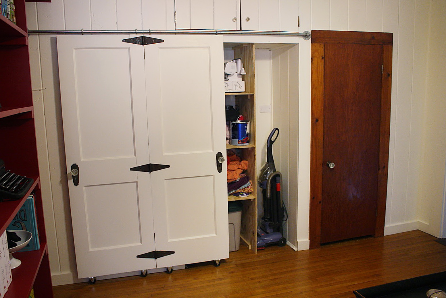 Barn Doors Track For Closets Sold At Menards Home Design