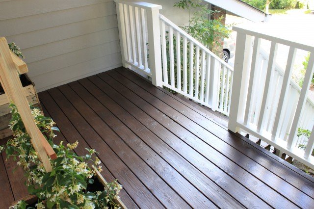 Behr Semi Transparent Deck Stain Chocolate