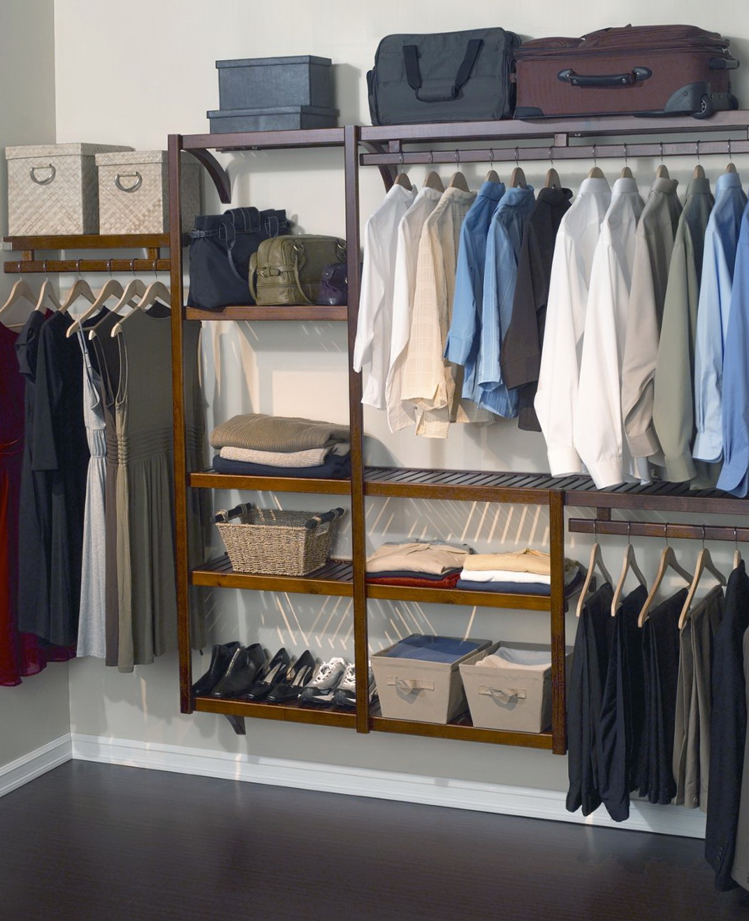 Best closet organizer systems home design ideas for Best closet organization systems