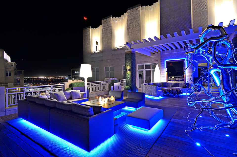 Blue Led Deck Lights Home Design Ideas