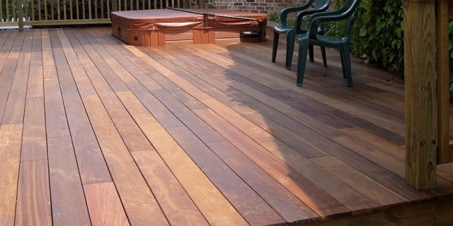 Brazilian Hardwood Decking Cost