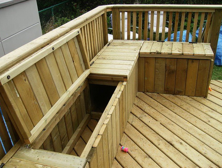 Build A Deck Bench Seat Home Design Ideas