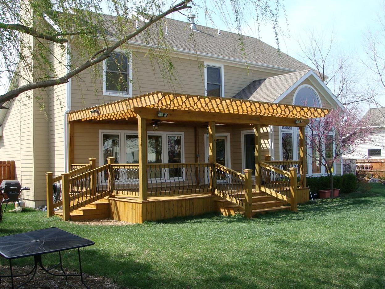 Build Roof Over Deck Home Design Ideas