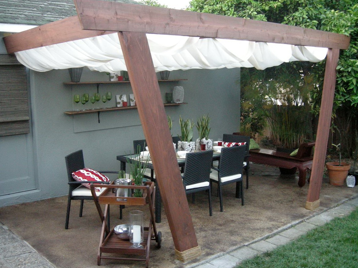 Build Your Own Deck Canopy Home Design Ideas