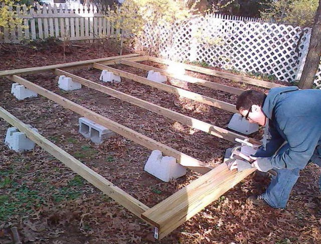 Building A Ground Level Deck Video