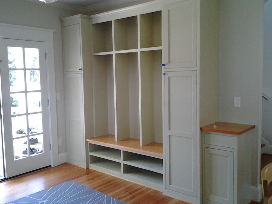 Built In Closet Dresser Plans