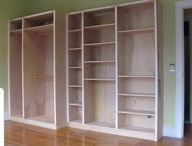 Built In Closet Plans Free Home Design Ideas