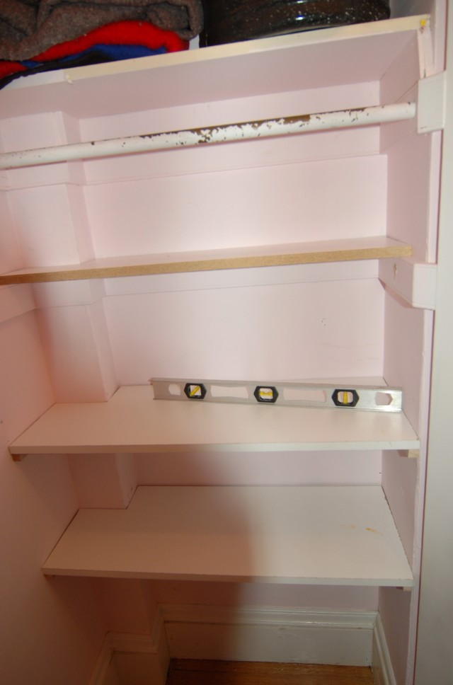 Built In Closet Shelves Diy