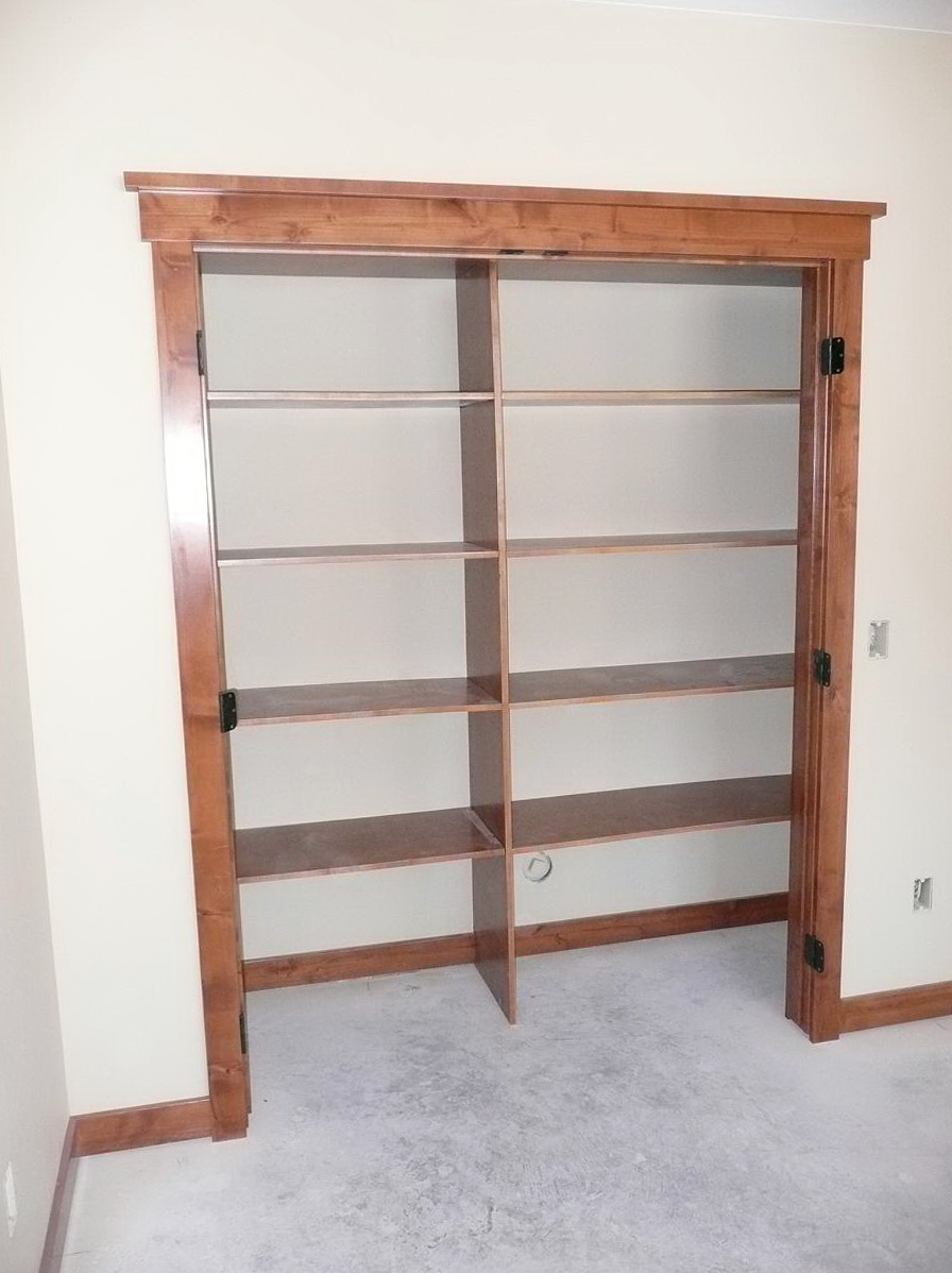 Built In Closet Shelving Adjustable Home Design Ideas