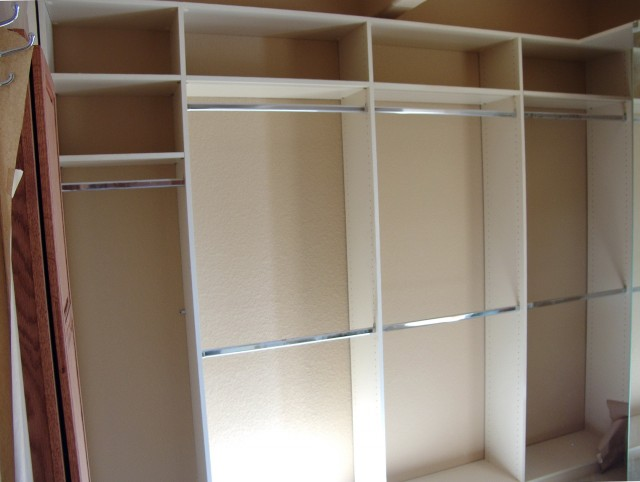 Built In Closet Shelving Plans