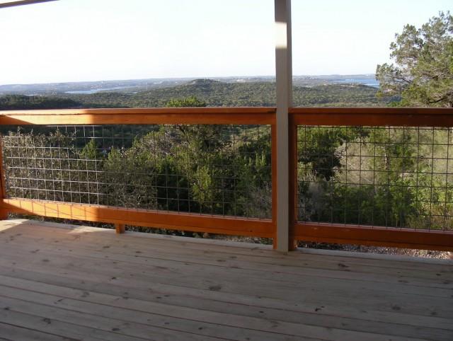 Bull Wire Deck Railing