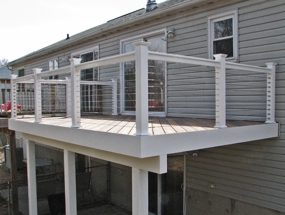 Cable Deck Railing Systems Cost Home Design Ideas