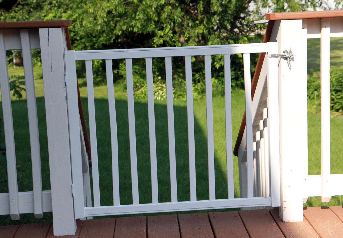 Cardinal Outdoor Deck Gates Home Design Ideas