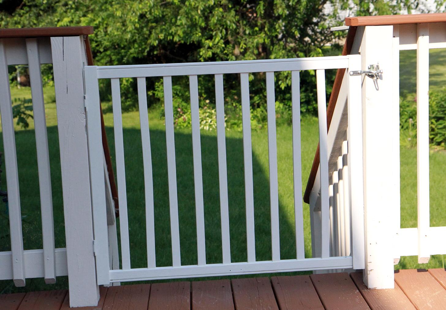 Cardinal Outdoor Deck Gates Home Design Ideas