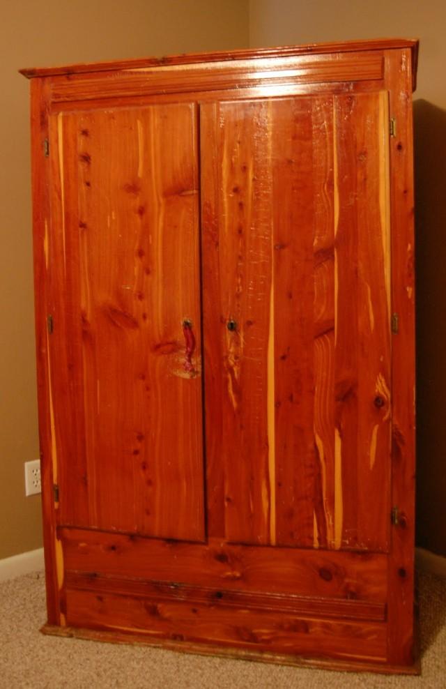 Cedar Wardrobe Closet For Sale