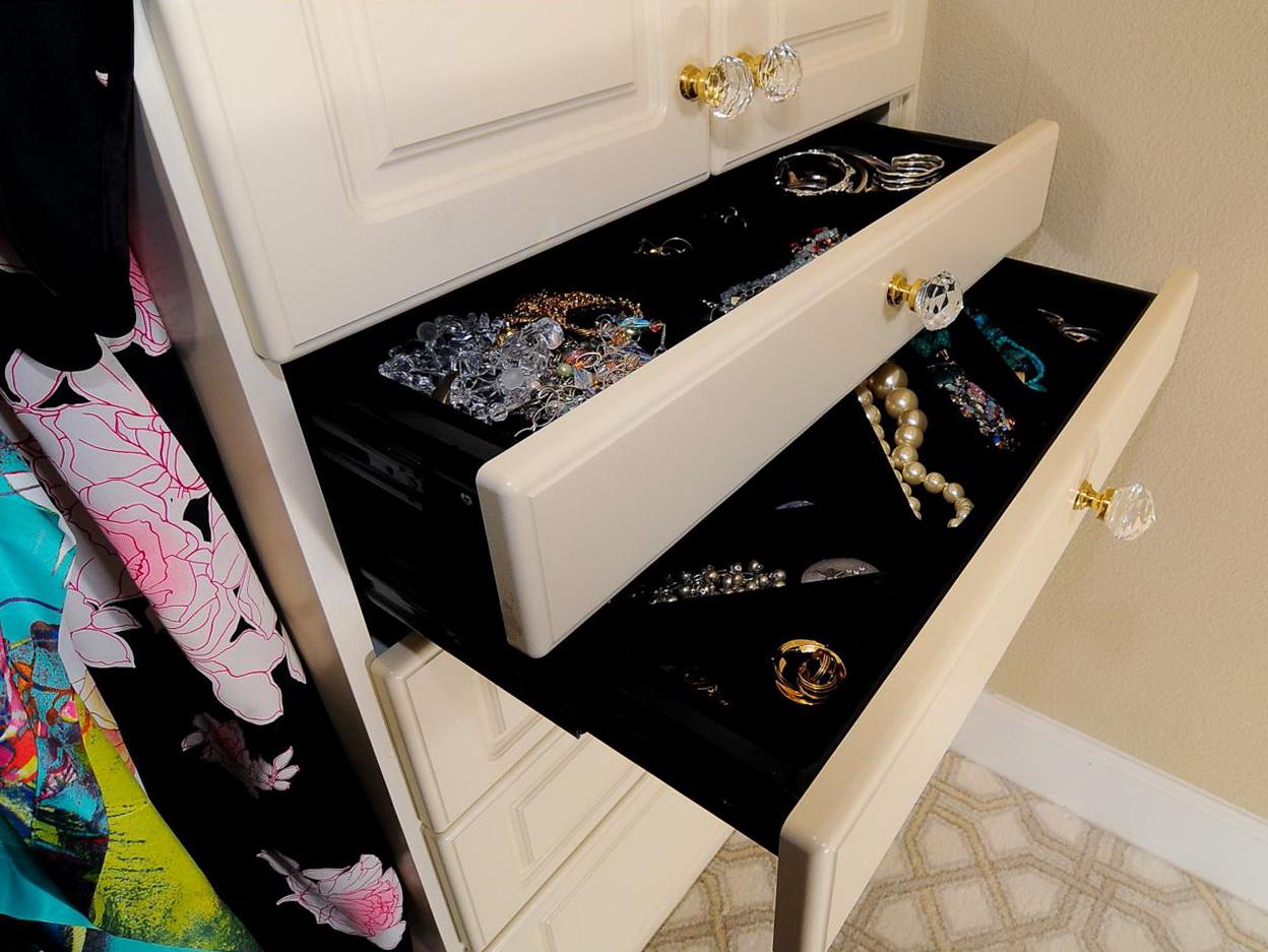 Closet Jewelry Organizer Drawers