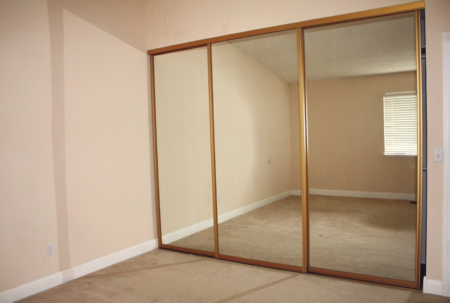 Closet Mirror Sliding Doors Home Depot