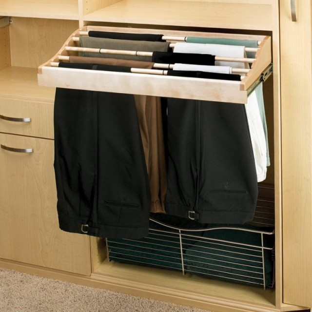 Closet Organizer Pull Out Shelves