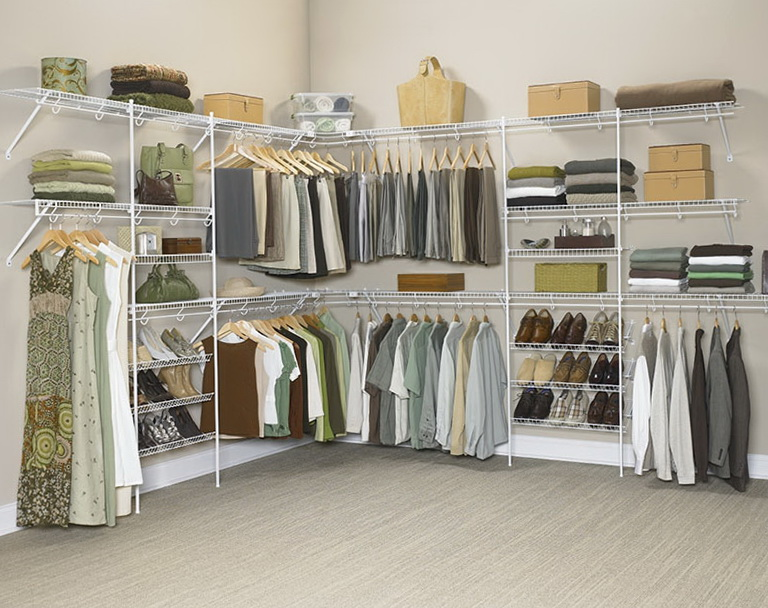 Closet Organizer Shelves Wire
