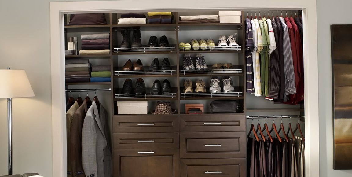 Closet Organizer Shelves Wood