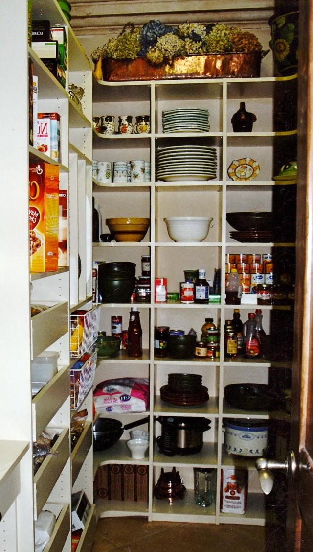 Closet Pantry Storage Ideas